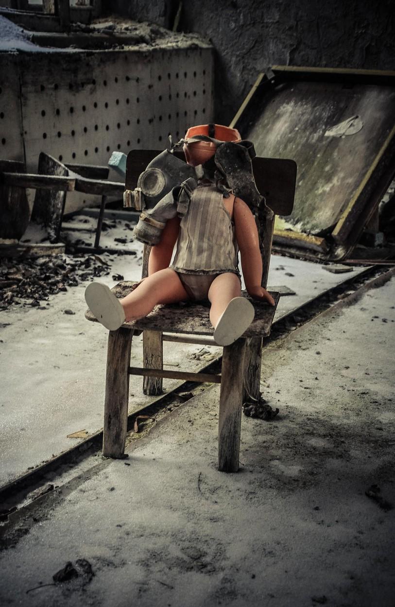 Pripyat In The Snow