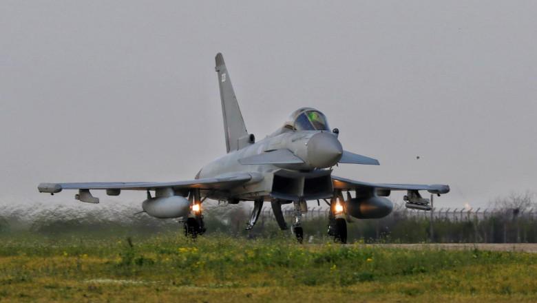 avion Eurofighter al RAF