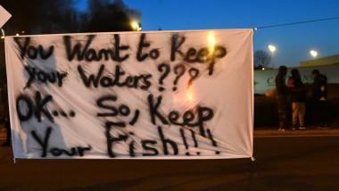 profimedia pescari protest franta