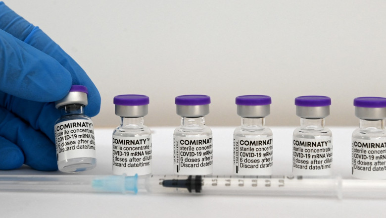 Doze de vaccin Pfizer