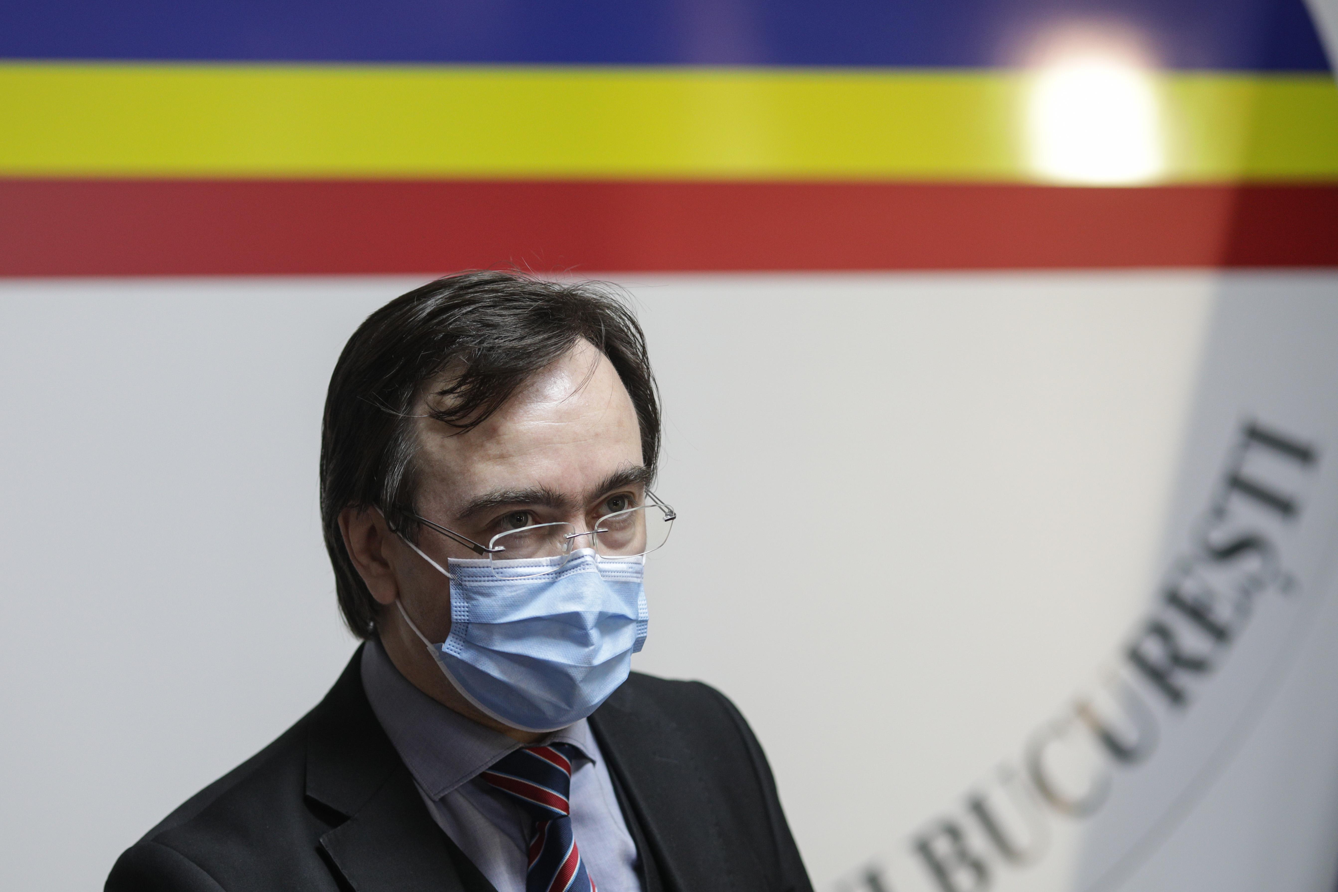 Prefectul Capitalei: Incidenta cazurilor de coronavirus s-a triplat in ultimele doua saptamani. El cere vaccinarea personalului medical