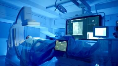 Sala Angiografie Spitalul Clinic SANADOR