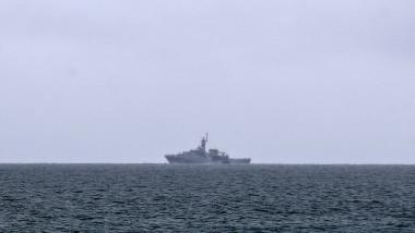 nava de patrulare britanica