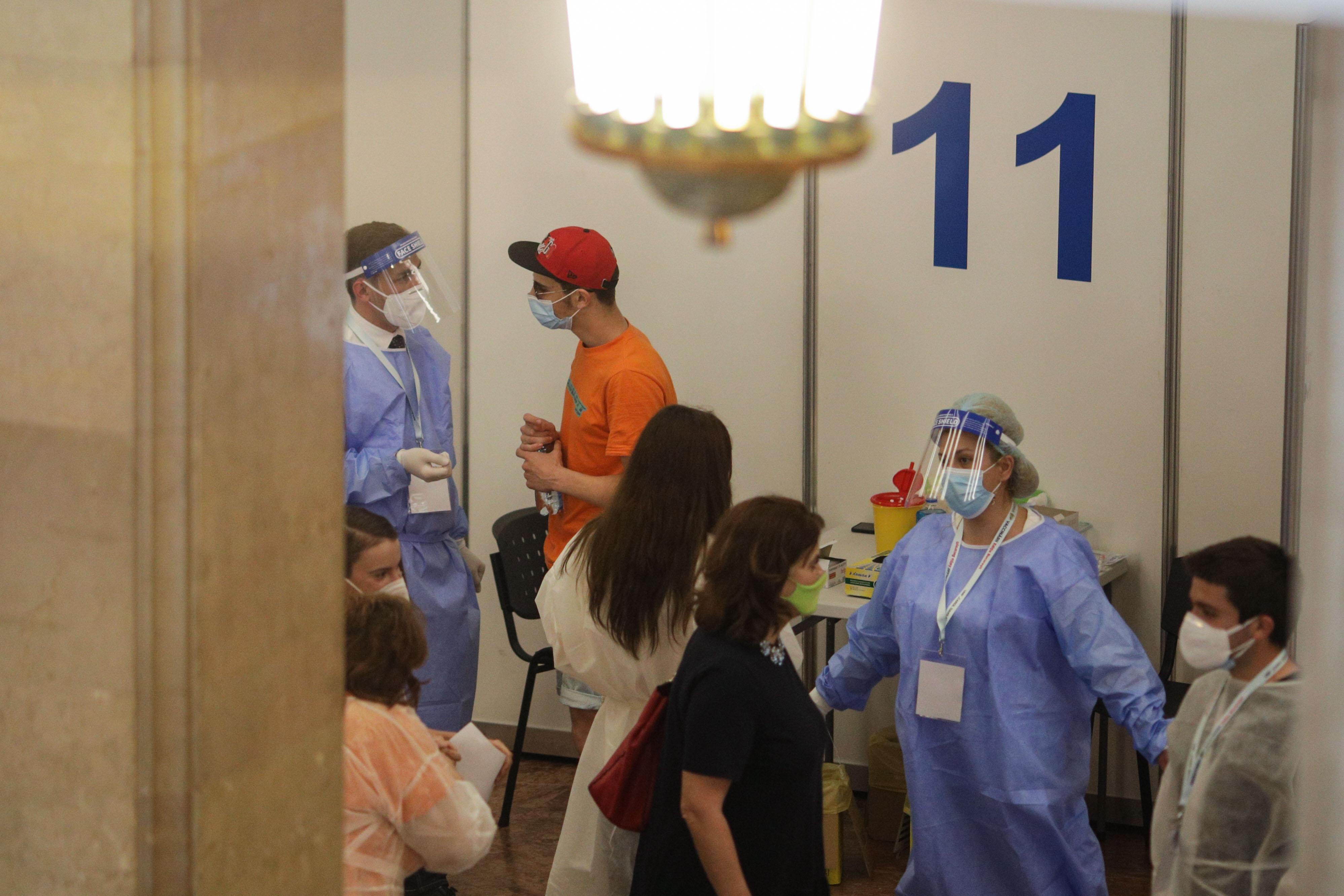 Dozele de vaccin de la Maratonul Vaccinarii din Capitala au fost suplimentate