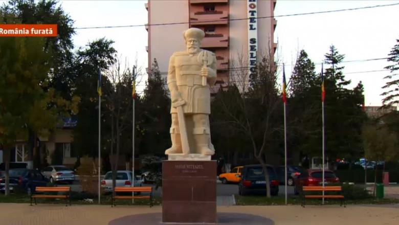 statuie mihai viteazul slobozia