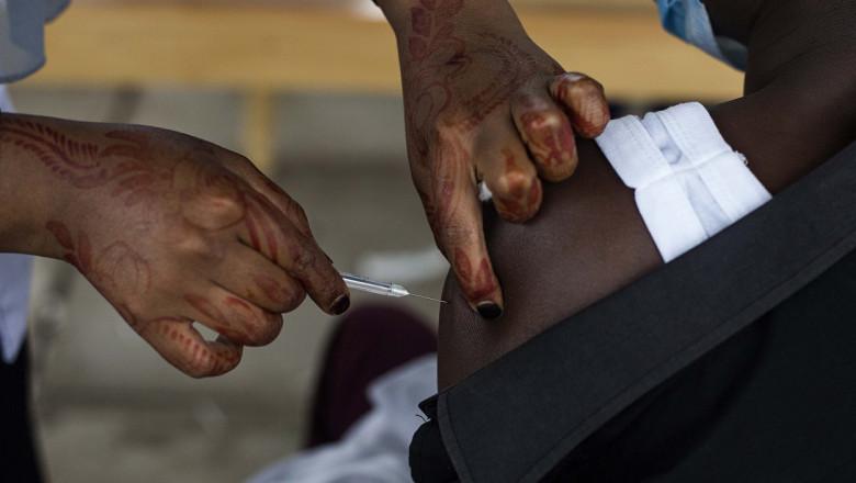 Phase 1 Of The Covid-19 Vaccination Program In Nairobi, Kenya - 12 Apr 2021