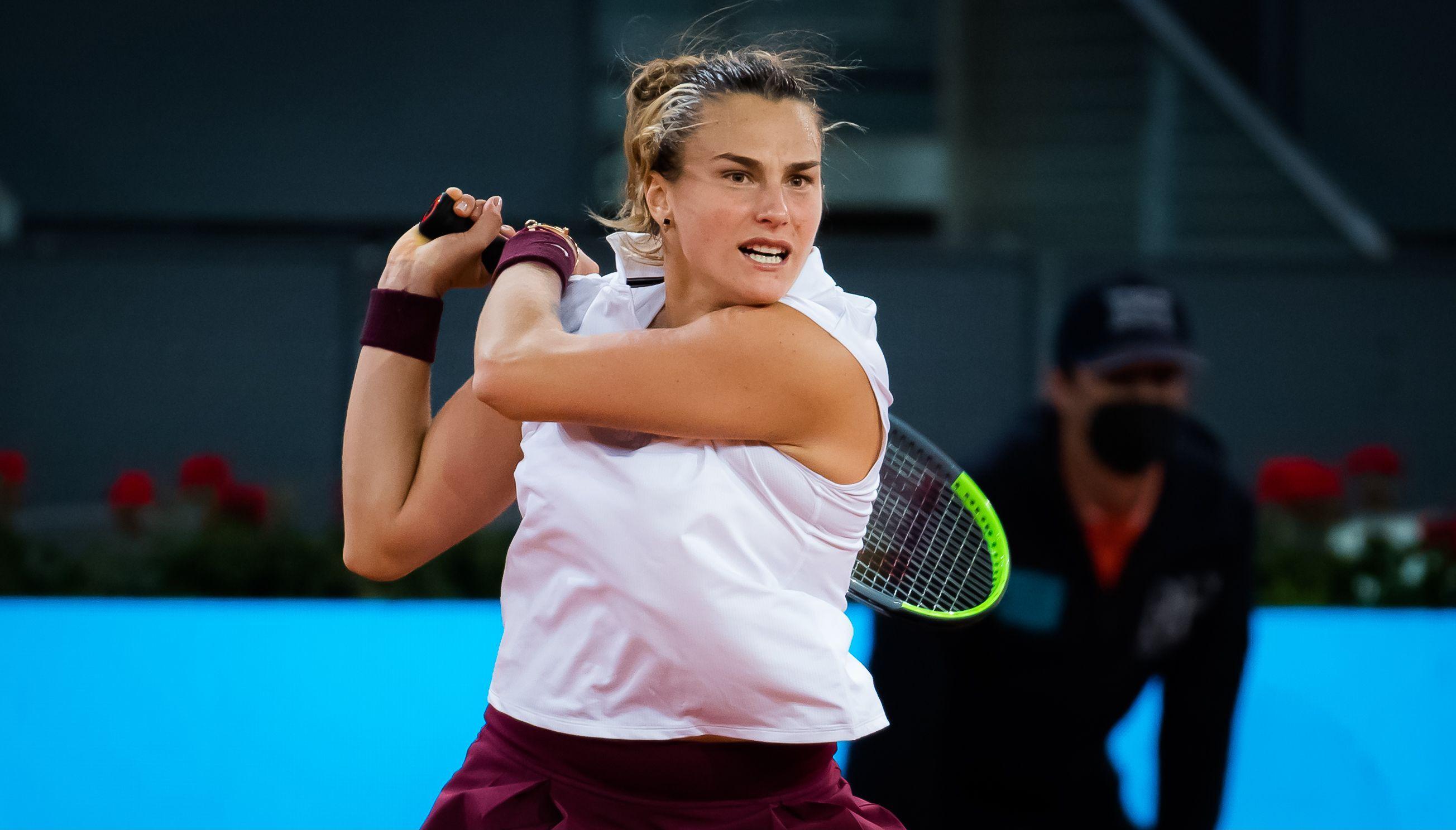 Aryna Sabalenka, campioana la Madrid. Primul set in fata numarului 1 WTA l-a castigat cu 6-0