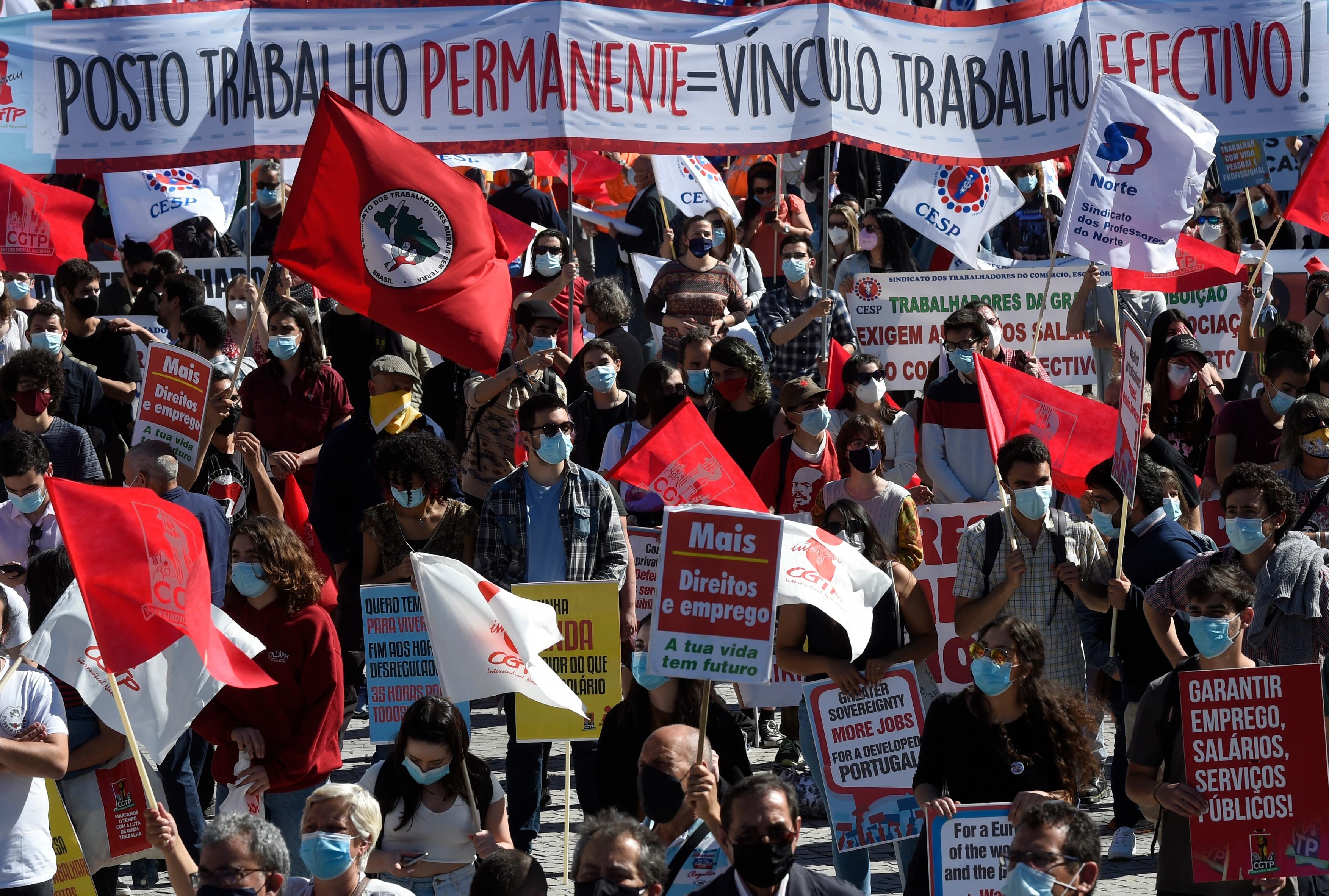 Protest la Porto: Daca liderii UE au preocupari sociale, nu de un summit era nevoie, ci de acţiuni concrete pe teren