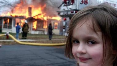 meme disaster girl