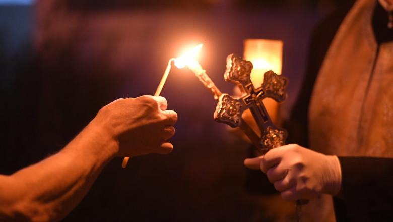 Lumina Sfântă a ajuns în România