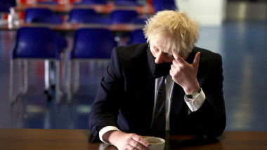 Boris Johnson school visit - London