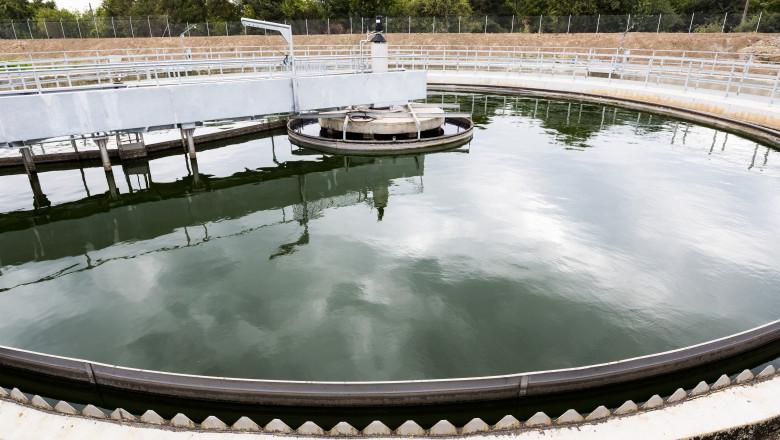 Stație de tratare a apei reziduale