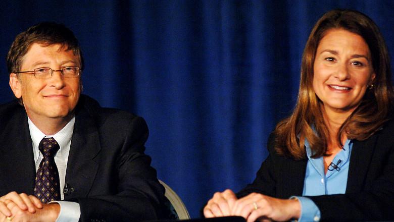 Bill Gates şi Melinda Gates