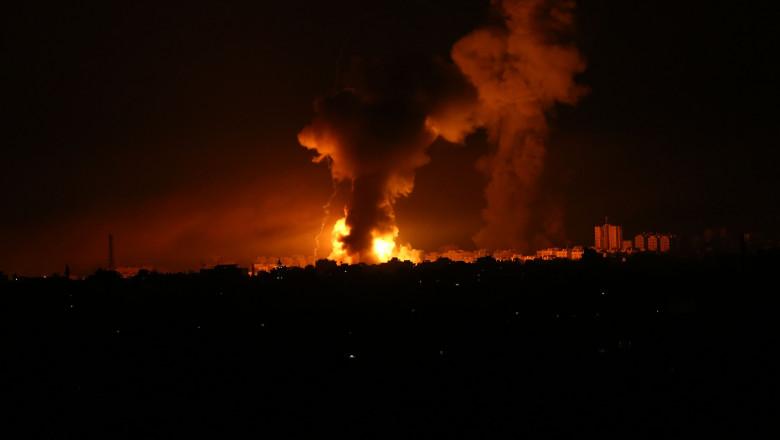 bombardament fasia gaza profimedia