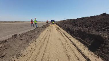 Au început lucrările la drumul de legătură cu Podul de la Brăila