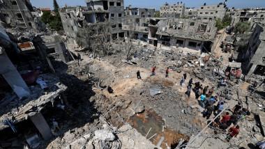 profimedia-bombardamente in palestina