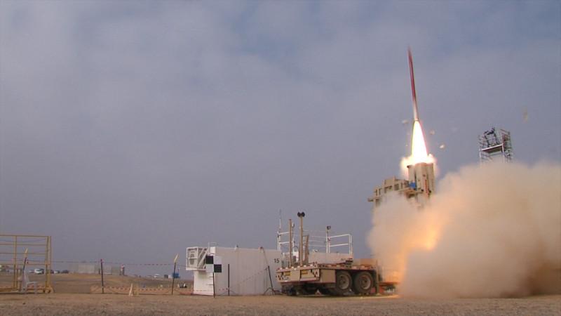 """Sistem de apărare antiaeriană și antirachetă din cadrul """"Praștiei lui David"""". Foto: Profimedia Images"""