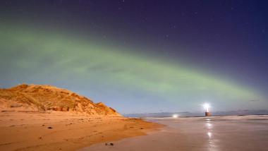 aurora sub forma de dune