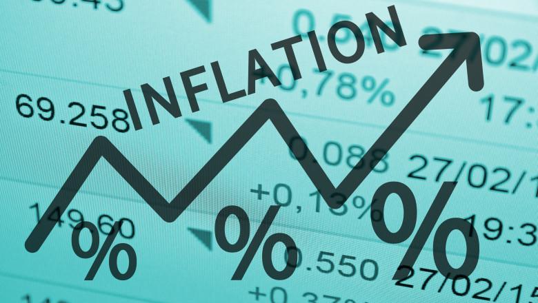 grafic care arata cresterea inflatiei