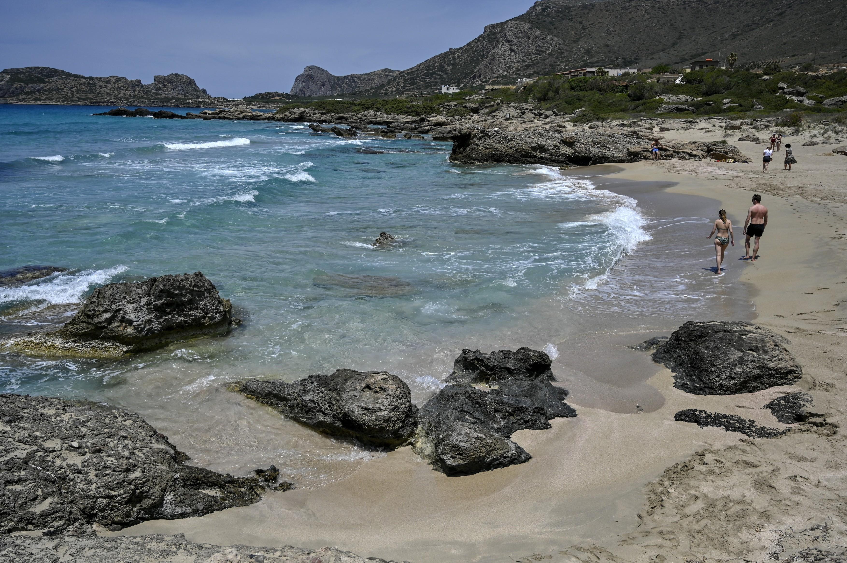 grecia plaja Falaserna Phalasarna creta 2profimedia