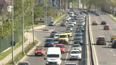 trafic aglomerat intrare bucuresti