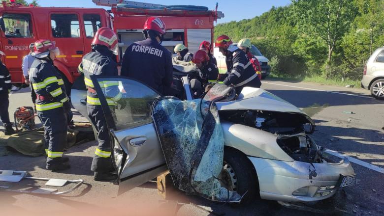 pompieri isu prahova accident nistoresti