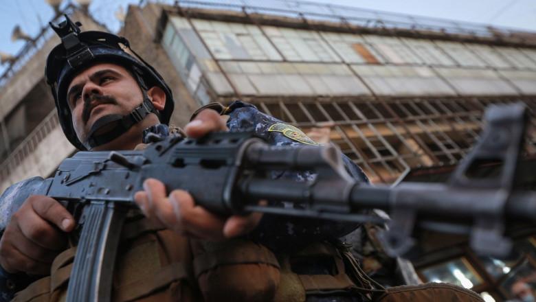 soldat irak