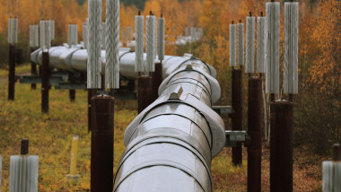 Trans Alaska Pipeline Serves As Main Artery For Alaska's North Slope Oil Fields