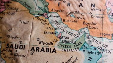 Hartă Orientul Mijlociu