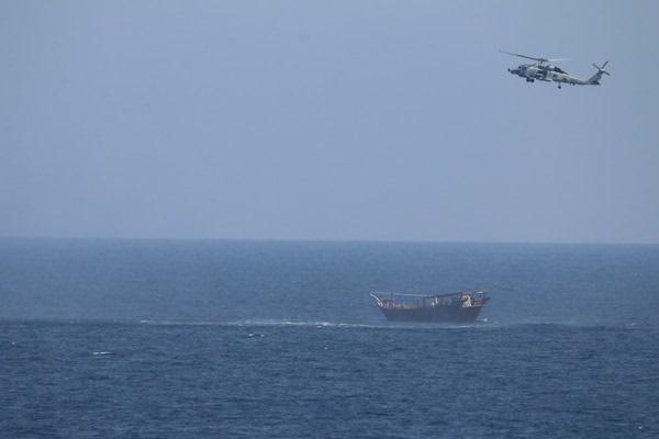 arme capturate marea arabiei