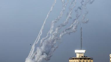 Israeli-Palestinian violence in Gaza, Palestine - 10 May 2021