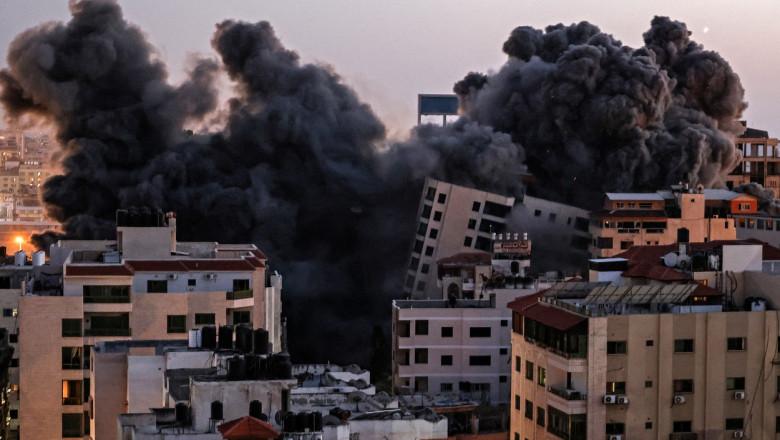 gaza hanadi tower atac profimedia-0610347673
