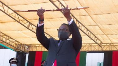 MALAWI-LILONGWE-NEW PRESIDENT-INAUGURATION CEREMONY