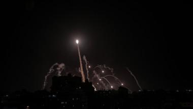 israel conflict gaza iron dome profimedia