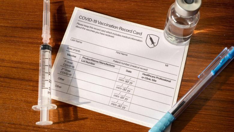 certificate de vaccinare