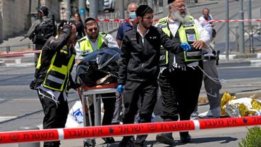 Atac terorist în Ierusalim.