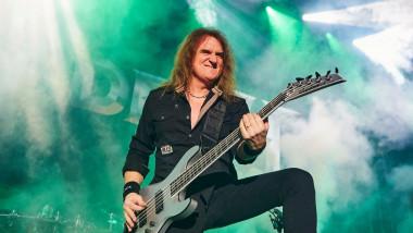 Trupa Megadeth s-a despărțit de basistul David Ellefson, în urma unor acuzații de comportament sexual neadecvat față de o minoră