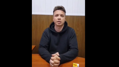 roman protasevici transmite un mesaj video din inchisoare