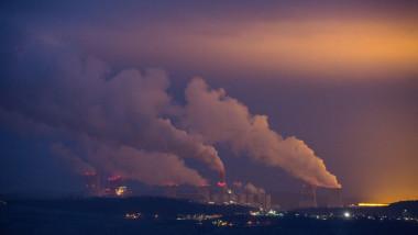 Mina din Polonia, fum generat în urma exploatării