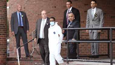 Tyrese Devon Haspil Photographed Leaving The Police Precinct After Been Charged With The Murder Of Tech CEO Fahim Saleh