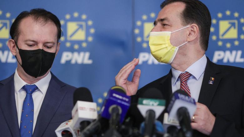 """Surse: Orban și Cîțu s-au contrazis pe PNRR, în ședința PNL. Turcan, critici pentru Ghinea: """"Nu îmi face el reformele"""""""