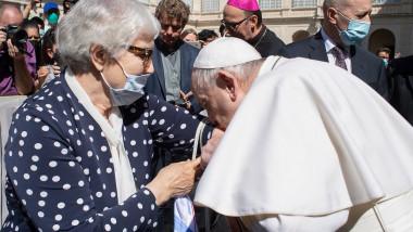 papa francisc supravietuitoare holocaust