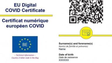 certificatul digital UE