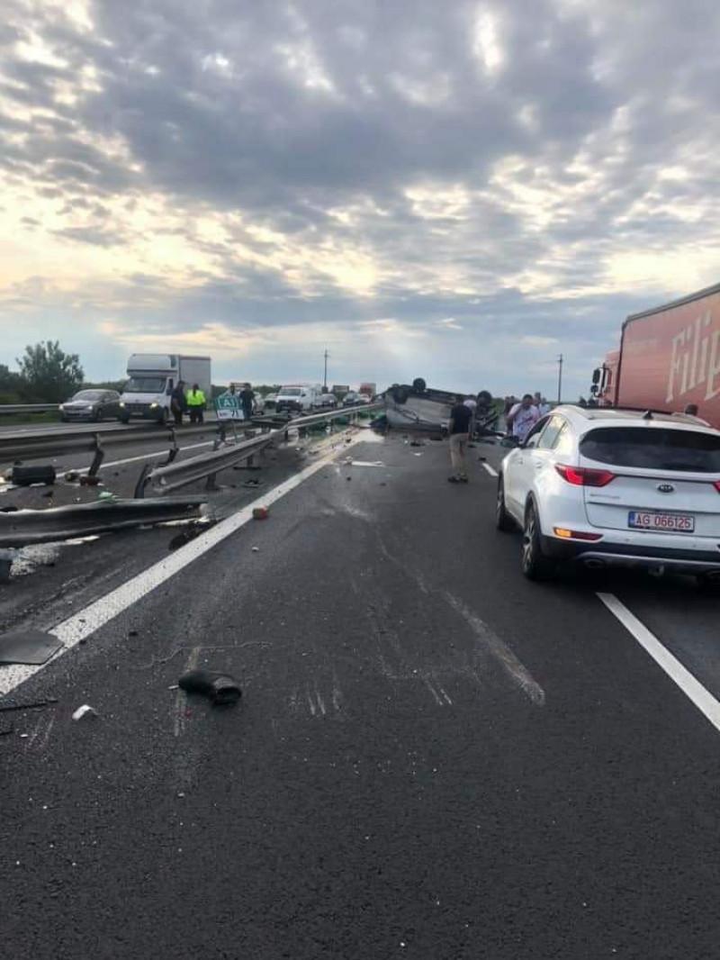 accident autostrada a1