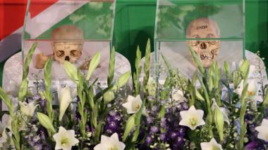 Cranii ale victimelor genocidului german