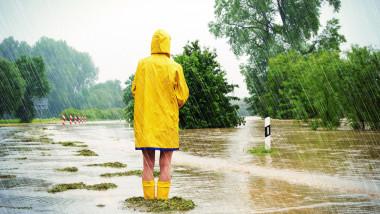 Nou cod portocaliu de ploi anunțat de ANM FOTO: Getty Images