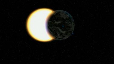Eclipsă parțială de Soare în 10 iunie