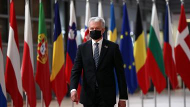 președinte lituanian la Bruxelles