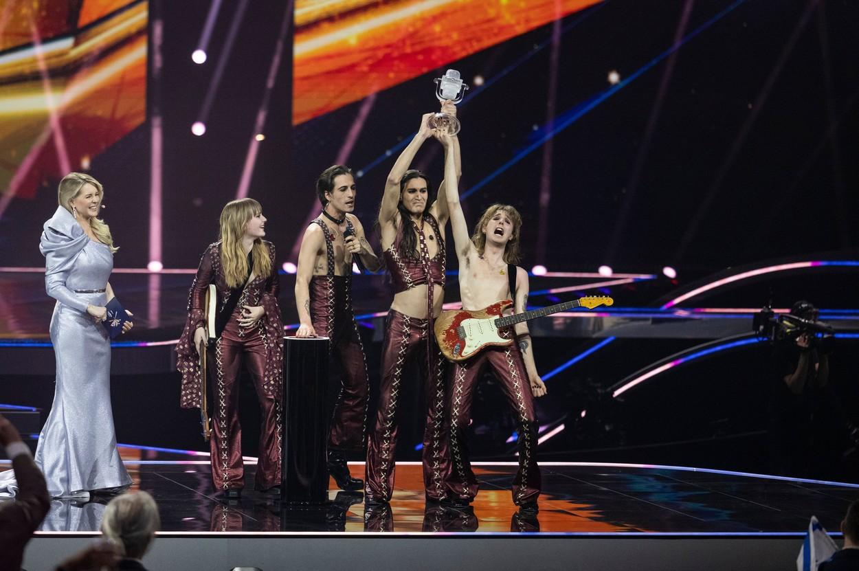 Eurovision 2021 a fost castigat de Italia, cu o piesa rock