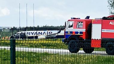 avion ryanair deturnat la minsk